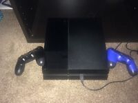 Playstation 4 + 2 controller+ playstation tv