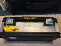 Stanley metal tool box