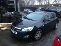 VAUXHALL ASTRA J 60 PLATE BREAKIG FOR SPARES TEL 07814971951 HAVE FEW IN STOCK