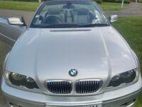 BMW 330ci M SPORT AUTO CONVERTIBLE MOT 11/2021 LEATHER TRIM SWAP CHEAP PART EXCHANGE WELCOME