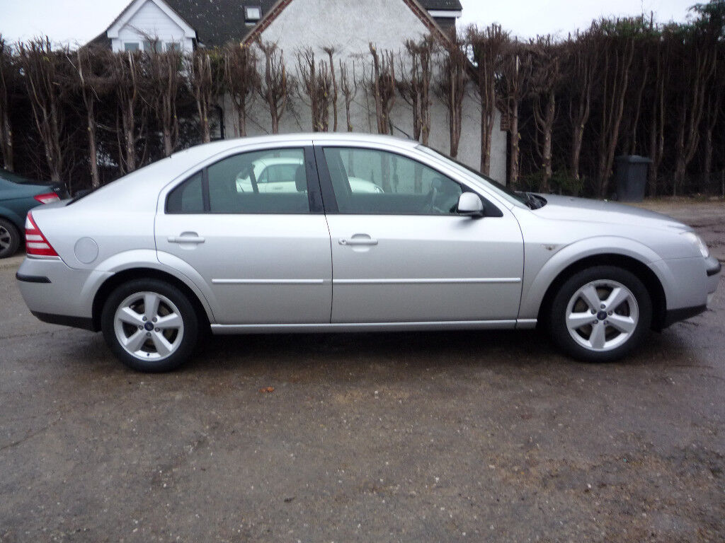 2006 FORD MONDEO ZETEC TDCI (115BHP) MANUAL. WITH FULL SERVICE HISTORY AND  FULL