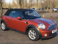 Mini Cooper Convertible.MOT Feb 19. FSH with Mini. Recently serviced