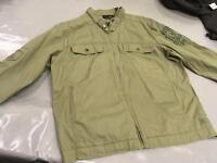 Quiksilver lightweight jacket, green, as new