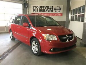 Dodge Grand Caravan crew leather and factory dvd player 2013