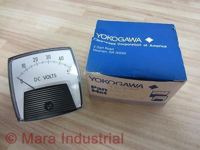 Yokogawa 254320ntnt8jbg D.c. Volt Meter