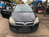 2004 Vauxhall Astra Club Twinport 5dr 1.6 Petrol Black BREAKING FOR SPARES