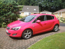 VAUXHALL ASTRA SRI DIESEL £ 30 TAX FSH STUNNING CAR POWERFULL & SMOOTH GREAT SPEC AA INSPEC WELCOME