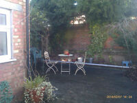 Large and spacious two bedroom garden flat
