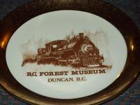 DUNCAN FOREST MUSEUM PLATE