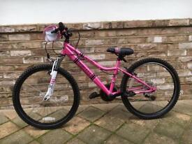 Girls Apollo Recall Hot Pink Mountain Bike