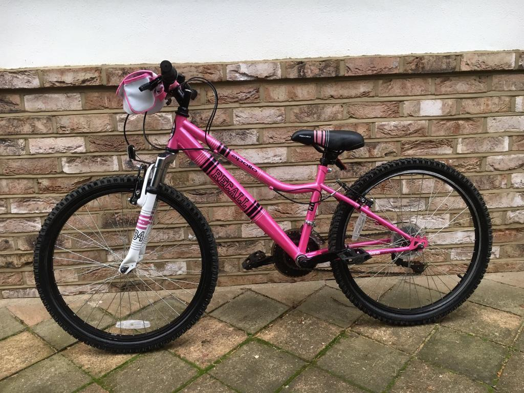 Girls Apollo Recall Hot Pink Mountain Bike  In Longfield -7653