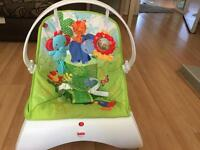 Fisherprice rainforest baby bouncer
