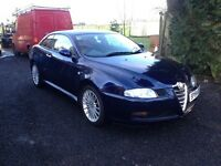 Alfa Romeo GT Coupe, 2005, Diesel, Met Blue, 105K miles, FSH, New clutch & tyres fitted last week