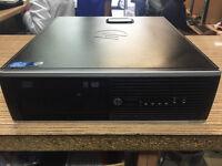 HP Compaq 8200 Elite SFF Core i5-2400 3.10GHz 4GB Ram 250GB HDD Win 7 PC