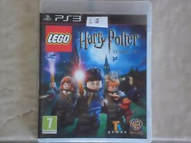 PS3 Game LEGO Harry Potter Years 1-4 for Sale - £12