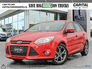 2014 Ford Focus SE HB *Bluetooth-UNDER 10,000 KMS*