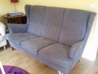 Strandmon Wing 3 seat sofa
