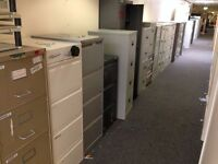 4 Drawer Metal Filing Cabinet - 20 Available