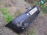 Renault Clio front bumper in black