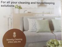 Domestic, office, end of tenancy, student, and all commercial cleaning