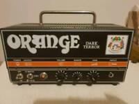 Orange dark terror amp head