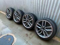 "Genuine Audi A3 / S3 Alloys With New Michelin 18"" Pilot Sport 4 Tyres"