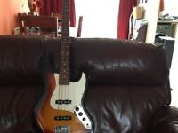 Aria Jazz Bass Guitar