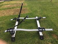 Genuine Range Rover Evoque Roof Bars and x2 bike carriers