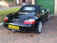 Porsche Boxster 986. Black with 95k FSH & MOT Jan 2018