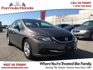 2013 Honda Civic LX | BLUETOOTH | LOW KM