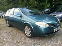 Automatic Estate 2.0 petrol Nissan Primera
