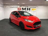 FORD FIESTA 1.0 EcoBoost Zetec S (s/s) 3dr (red) 2013