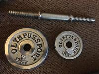 Free Weights & Dumbell Bar Kit