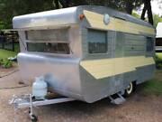 Vintage Caravan Viscount 1965 Ambassador Alumvan Restored Bright Alpine Area Preview
