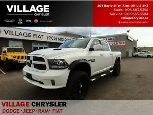 2014 Ram 1500 Sport|8spds|Nav|leather|Lifted|TrailerTow