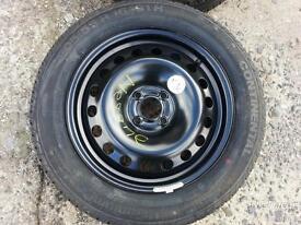 Renault 4x100 Steel / Spare Wheel 205/55r16 Continental