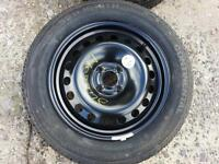 Renault 4x100 Steel / Spare Wheel 205/55r16 Continental