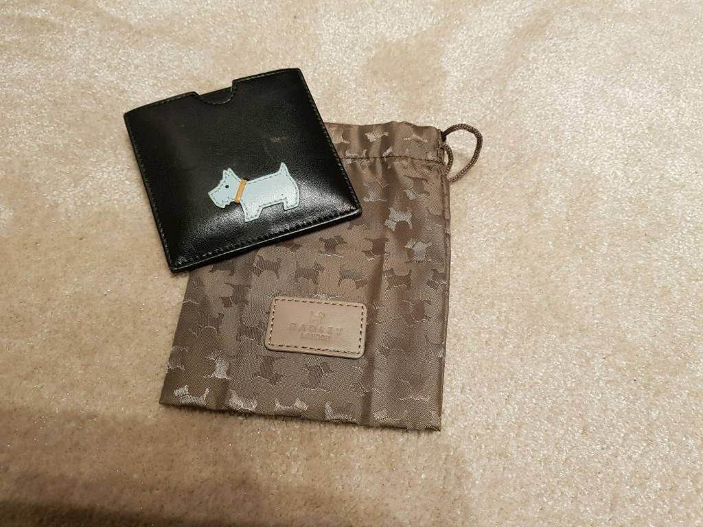 Radley Compact Mirror with case and protective bag