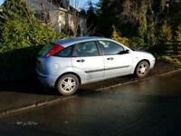 Ford focus 1.6 zetec 5dr. very very good car been in the family for years