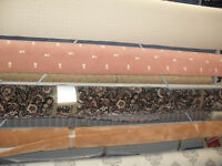 USED CARPET ROLL STAND 4 MTR ROLLS - VERY GOOD CONDITION