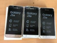 Brand new boxed Samsung galaxy J3 2016 white & gold Dual sim factory unlocked