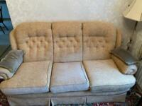 Sofa and Two Arm Chairs - Good Condition