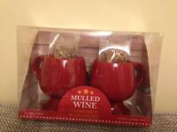 Mulled Wine 2 Ceramic Mug set