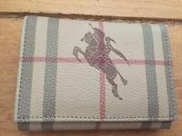 Burberry small purse/wallet