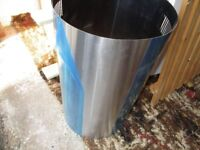 ISLAND EXTRACTOR CHIMNEY - STAINLESS STEEL