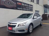 2011 Chevrolet Cruze ECO MANUAL ALLOYS LOADED (CERTIFIED)