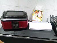Slow cooker, sous vide & vacuum sealer