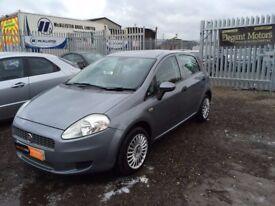 2009 Fiat Grand Punto 1.4 Petrol **Full Ser Hist*MOT JULY 2018**Electric Windows & Mirrors*New Tyres