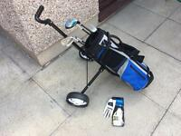 Hippo Junior Kids Golf Set (Age 5- 8) Immaculate Condition Childrens Set