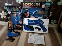 Vintage Retro Sega Lock-On Gun Game by Ban Dai